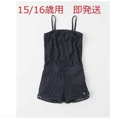 Abercrombie & Fitch 子供用水着・ビーチグッズ 国内即発送 15/16Size【アバクロ】プールTOプレイロンパー水着