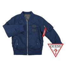 Guess★KIDS BOMBER JACKET DARK NAVY