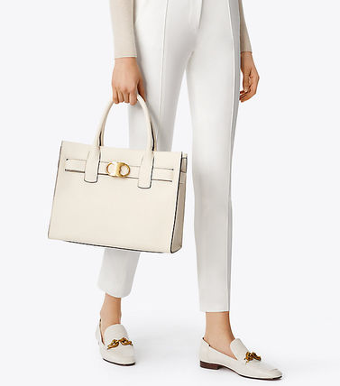 Tory Burch GEMINI LINK LEATHER TOTE (大)