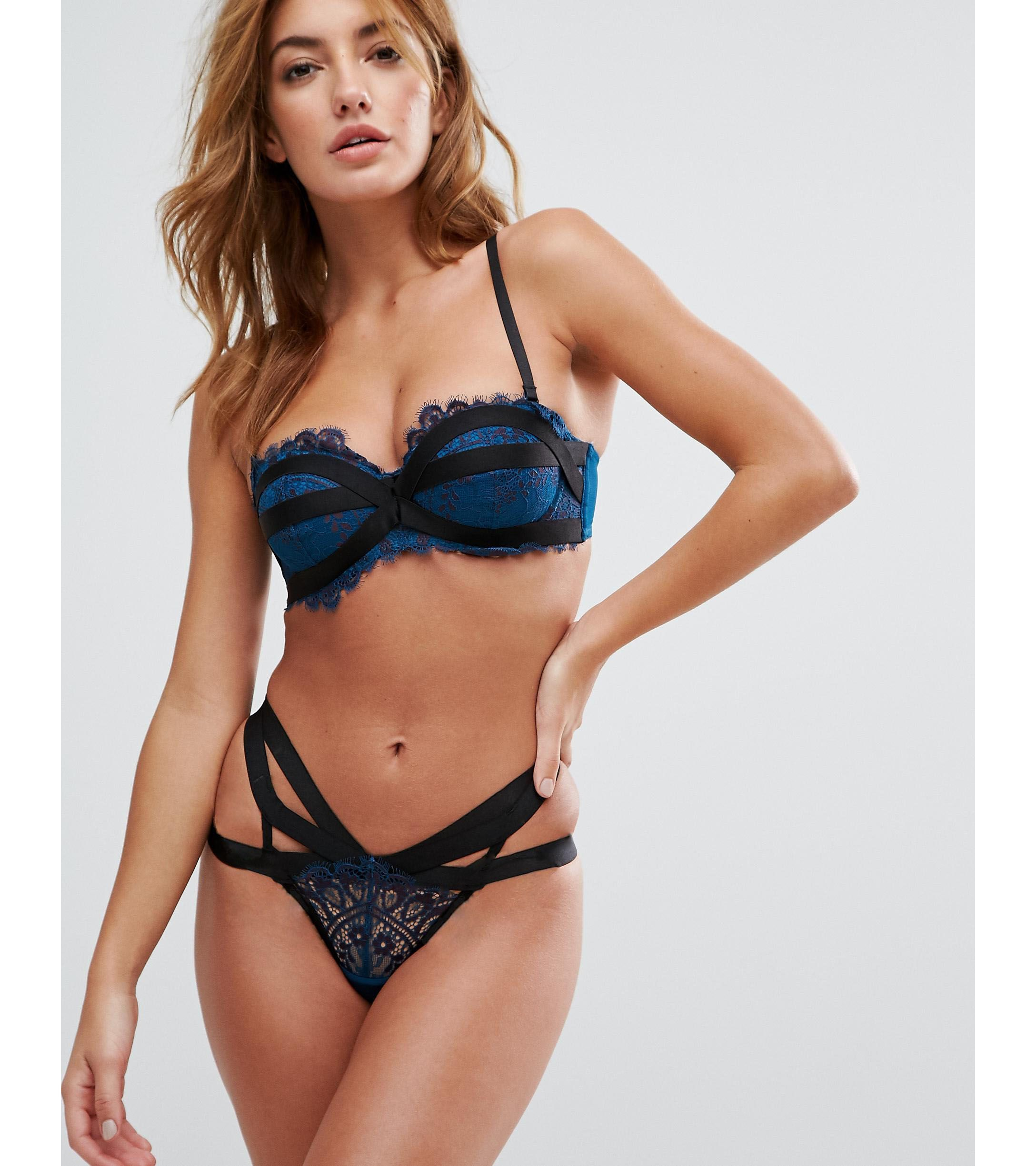 ★ASOSセレクト★Hunkemoller Psychotropical Laurel Bra