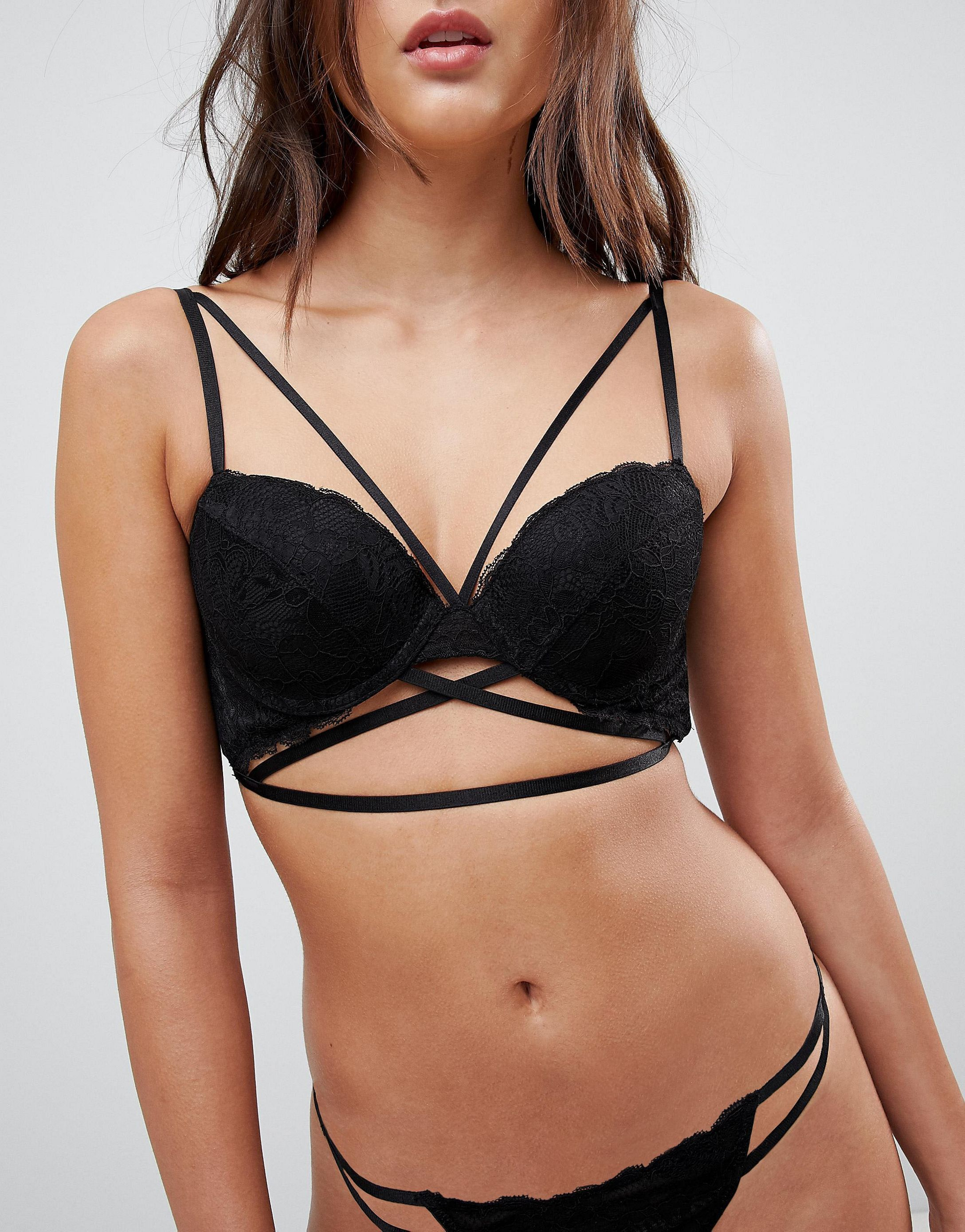 ★ASOS★ Becca ストラップpy Lace Moulded Bra