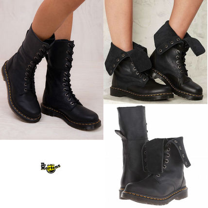2 way履ける【Dr Martens】Hazil Tall Slouch Boot