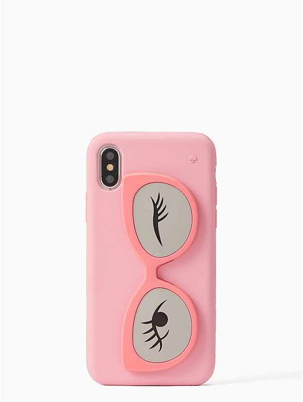 kate spade silicone sunglass stand iphone x caseサングラス