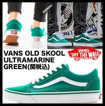 ★関税込/海外大人気★VANS★OLD SKOOL★ULTRAMARINE GREEN