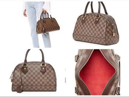 Louis Vuitton Damier Duomo Satchel (Previously Owned) ダミエ