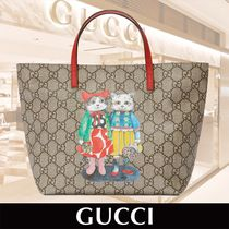 GUCCI Children's GG Kitten Friends Tote 関税送料込