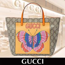 GUCCI Children's GG Butterfly Tote 関税送料込