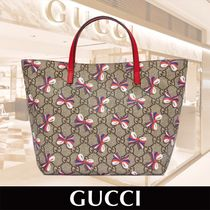 GUCCI Children's GG Sylvie Bow Tote 関税送料込