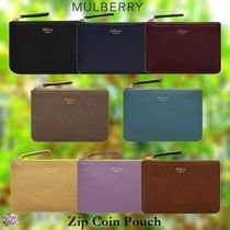 Mulberry☆Zip Coin Pouch ファスナー 小銭入れ コンパクト