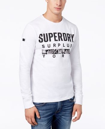 【Superdry】Graphic-Print Long-Sleeve T-Shirt☆長袖Tシャツ