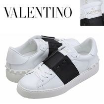 VALENTINO正規品/EMS発送/送料込み Open Hidden Sneakers Black
