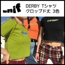UNIF Clothing(ユニフ) Tシャツ・カットソー 送関税込*UNIF* 人気再入荷!DERBY TOP Tシャツ3色