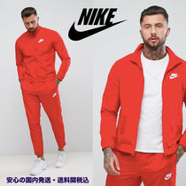 Nike Woven Tracksuit Set In Red♪