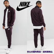 Nike Mixed Fleece Tracksuit Set In Purple♪