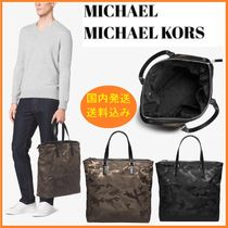 「SALE」Michael Kors★Large Camouflage★迷彩柄ナイロントート