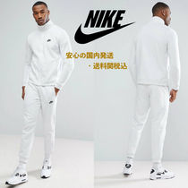 Nike Zip Fleece Tracksuit Set In Grey♪