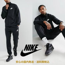 Nike Polyknit Tracksuit Set In Black♪