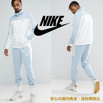 Nike Polyknit Retro Tracksuit Set In Blue♪