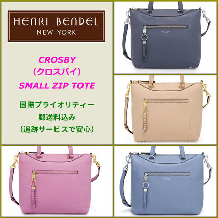 【SALE】Henri Bendel(ヘンリベンデル)Crosby Small Zip Tote