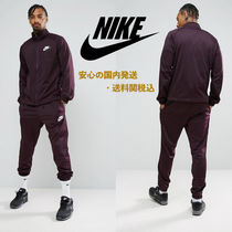 Nike Polyknit Tracksuit Set In Purple♪