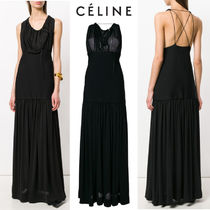 【18SS】大注目!!★CELINE★long flared dress
