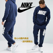 Nike JDI Fleece Tracksuit Set In Navy♪