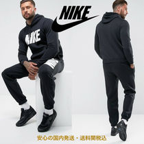 Nike JDI Fleece Tracksuit Set In Black♪