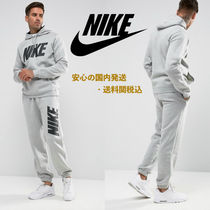 Nike JDI Fleece Tracksuit Set In Grey♪