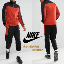 Nike Polyknit Retro Tracksuit Set In Black♪