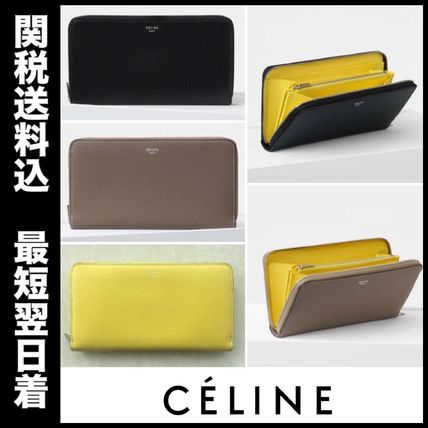 SALE!国内即発!CELINE 大人気 zip around wallet
