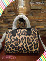 在庫即発kate spade★DUNNE LANE LEOPARD SMALL LAKE