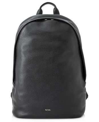 Paul Smith 18SS City Leather バックパック_BLACK