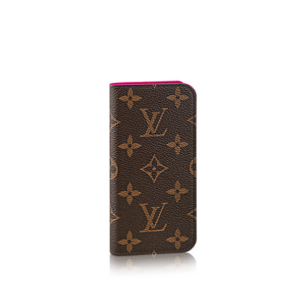 国内即発☆2017-18AW Louis Vuitton iPhone 7 Folio