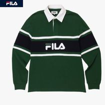 FILA Colored rugby shirt  カラー配色ラグビーシャツポロシャツ