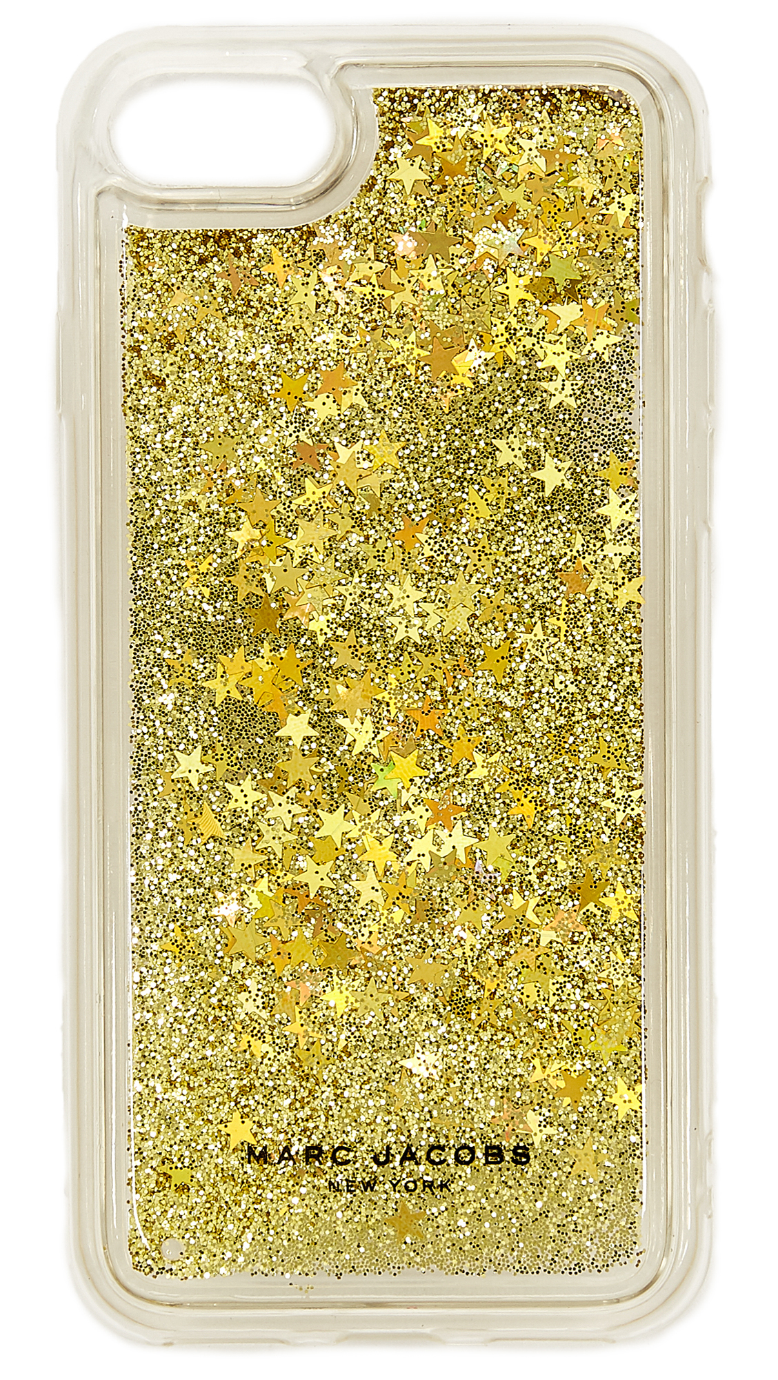 Marc Jacobs Floating Glitter iPhone 7 / 8 Case_Gold