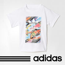 [アディダス 正規品] adidas Infants Graphic Tee BK5734