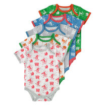 Mono Cow Boy 5 Pack Body Suit ベビー服 5枚セット