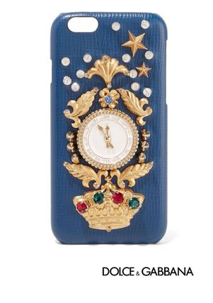 [Dolce & Gabbana]   leather iPhone 6 case ☆送料関税込☆