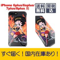 【国内即納】新作!MOSCHINO☆Betty Boop iPhone 6/7/8plusカバー