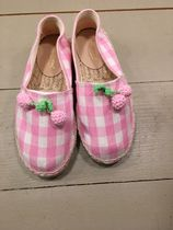 SS18 BONPOINT☆FILLEエスパドリーユ pink チェリー