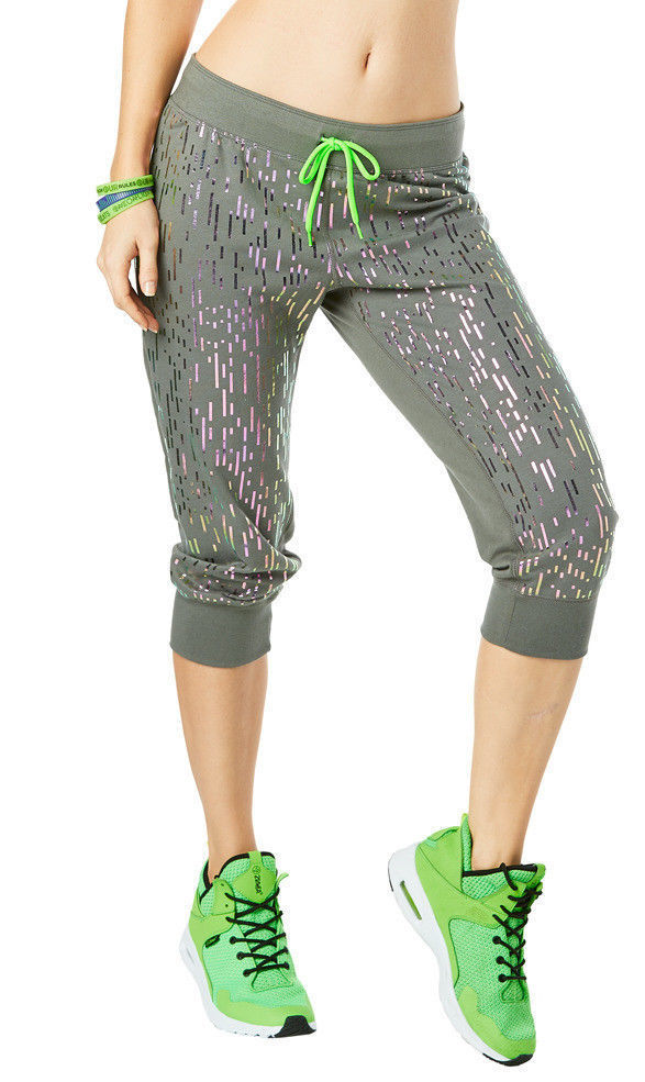 Zumba Lost In The Music Capri Pants  2色