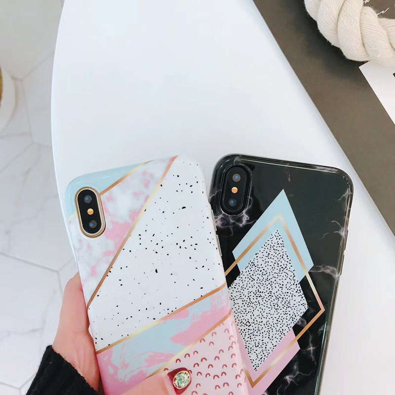 iphone8 8plus iphoneX 7 7plus 6 6splus ケース 大理石 ソフト