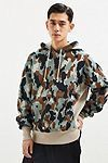 Champion & Urban Outfitters Camo Reverse Weave Hoodie