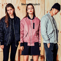 STEREO VINYLS COLLECTION(ステレオビニールズコレクション) ブルゾン ★STEREO VINYLS COLLECTION★ [AW17] MA-1 Jacket