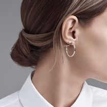 Tiffany & Co☆ TIFFANY T Wire Hoop Earrings ミディアムサイズ