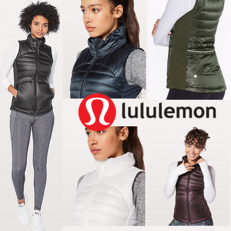 lululemon*北米限定今冬マストハブ*Down For A Run Vest II