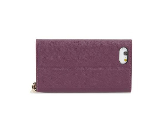 kate spade new york☆iPhone7/8Plusケース☆手帳型ストラップ付