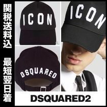 国内即発☆DSQUARED2 Icon Baseball Cap