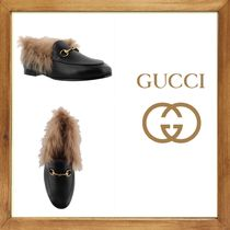 ★GUCCI《グッチ》 GUCCI JORDAAN LOAFER WITH  FUR   送料込★