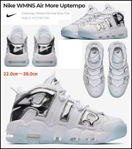 【NIKE】 NIKE WOMEN'S AIR MORE UPTEMPO クローム 2/2発売